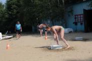 Игры на пляже дети